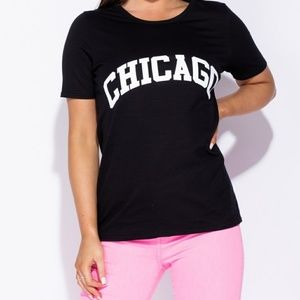 •NEW• Chicago Print Tee
